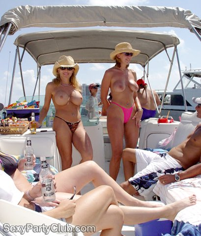 swingers at orgy on yacht