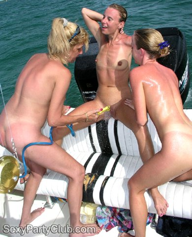 wild swingers boat party