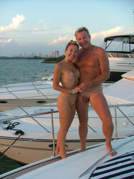 Amusing information Nude sex party on nude boat