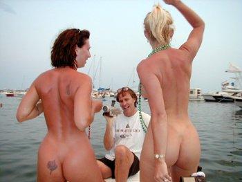 Hot chicks in mini skirt naked